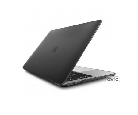 Пластиковый чехол Matte Black для Macbook Pro 15