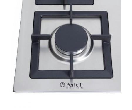 Варочная поверхность Perfelli HGM 6430 INOX SLIM LINE