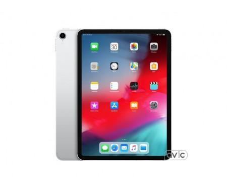 Apple iPad Pro 11 (2018) Wi-Fi + Cellular 64GB Silver (MU0U2)