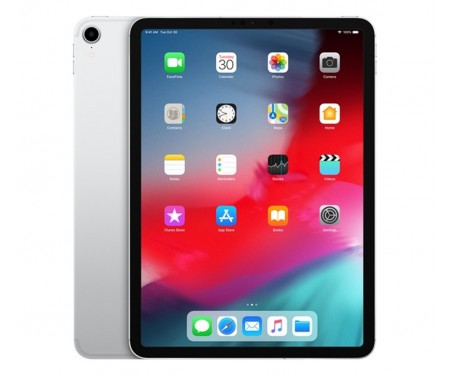 Планшет Apple iPad Pro 11 (2018) Wi-Fi + Cellular 256GB Silver (MU172)