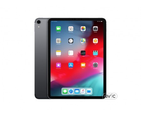 Apple iPad Pro 11 (2018) Wi-Fi + Cellular 512GB Space Gray (MU1F2)