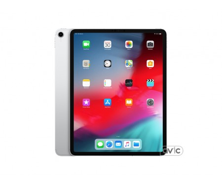 Apple iPad Pro 12,9 (2018) Wi-Fi + Cellular 512GB Silver (MTJJ2)