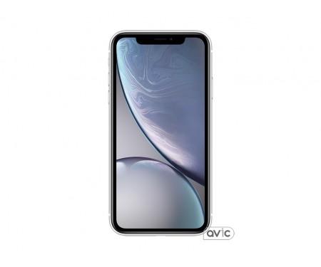 Apple iPhone XR Dual Sim 256GB White (MT1J2)