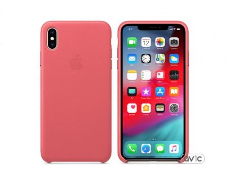 Чехол для смартфона Apple iPhone XS Max Leather Case - Peony Pink (MTEX2)