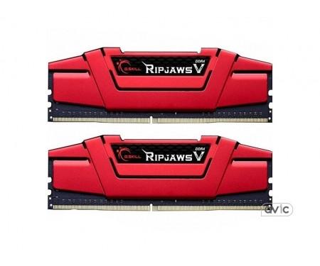 Память G.Skill 16 GB 2x8GB DDR4 3000 MHz Ripjaws V (F4-3000C16D-16GVRB)