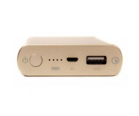 Power Bank PowerPlant Q1S, Quick-Charge 2.0, 10200mAh Gold (DV00PB0005G)