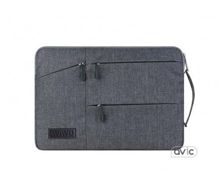 Сумка WIWU Pocket Sleeve MacBook 15 Grey
