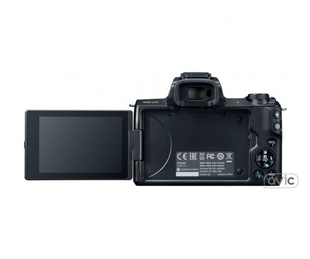 Фотоаппарат Canon EOS M50 kit (15-45mm) IS STM Black