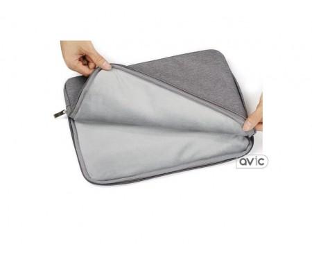 Чехол Denim series bag для MacBook 15 Gray