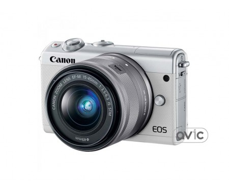Фотоаппарат Canon EOS M100 kit (15-45mm) IS STM White