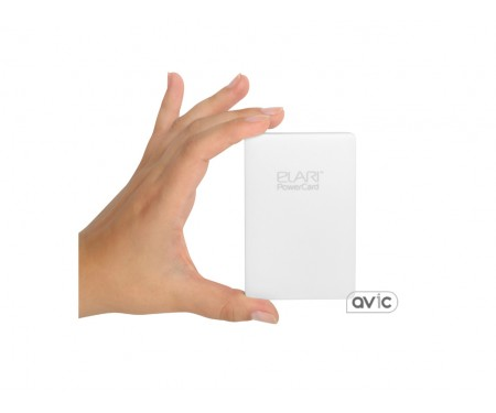 Внешний аккумулятор-кредитка Elari PowerCard 2500 мАч (White)