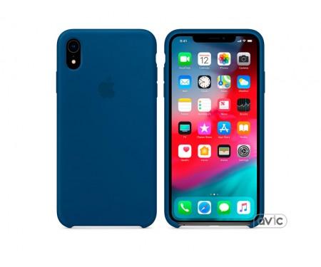 Чехол для смартфона Apple iPhone XR Silicone Case Midnight Blue