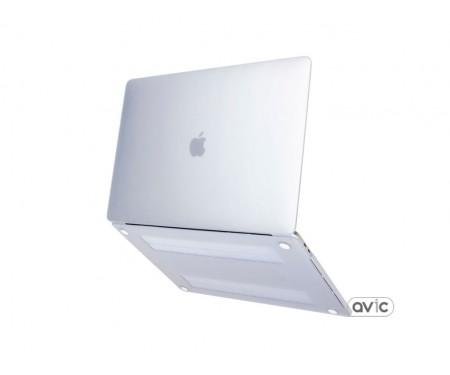 Чехол защитный пластиковый для MacBook Air 13 (2018) Crystal Clear White