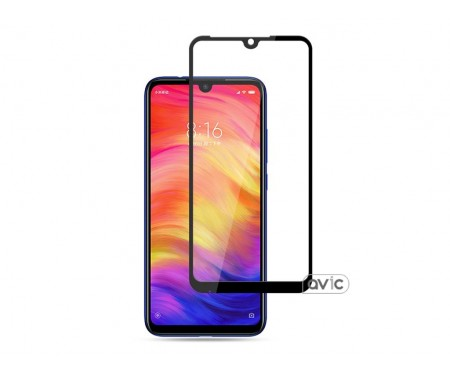Защитное стекло (NP) FullGlue Xiaomi Note 7 Black