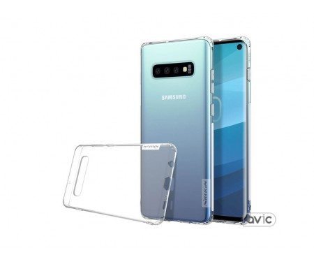 Чехол Nillkin Nature Series для Samsung Galaxy S10 (Transparent)