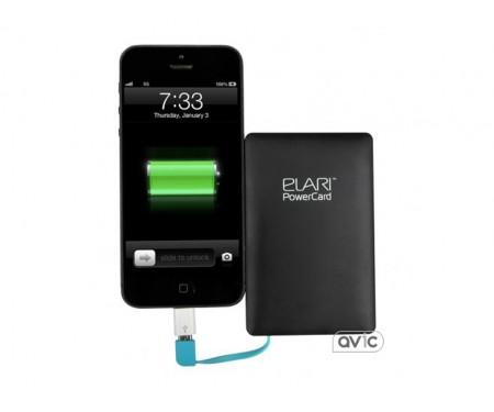 Внешний аккумулятор-кредитка Elari PowerCard 2500 мАч (Black)
