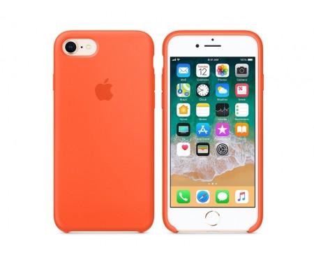 Чехол для смартфона Apple iPhone 7/8 Silicone Case - Spicy Orange Copy