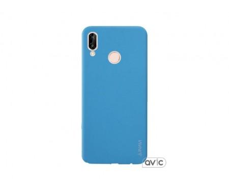 Чехол для Huawei P20 Lite Blue Inavi Simple Color