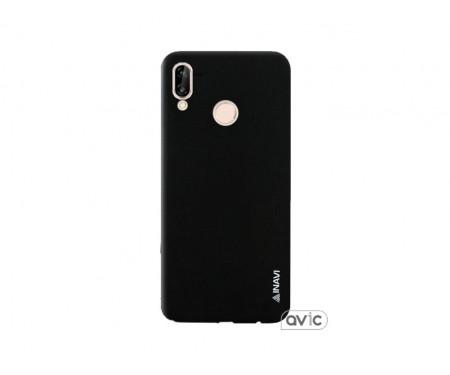 Чехол для Huawei P20 Lite Black Inavi Simple Color
