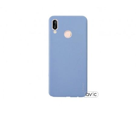 Чехол для Huawei P20 Lite Violet Inavi Simple Color