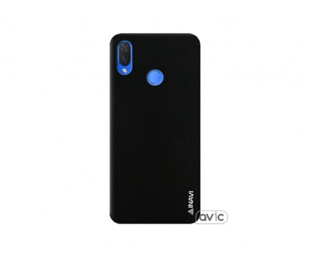 Чехол для Huawei P Smart Plus Black Inavi Simple Color