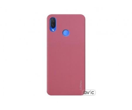 Чехол для Huawei P Smart Plus Pink Inavi Simple Color