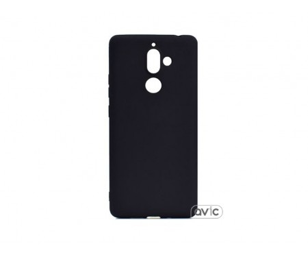 Чехол для Nokia 7 Plus Silicone Case Black