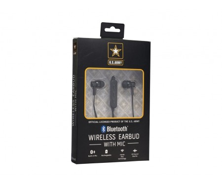 Наушники U.S. Army Wireless Bluetooth Earbuds (US-BTEB)