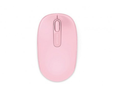 Microsoft Wireless Mobile Mouse 1850 (Pink)