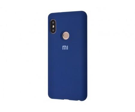 Чехол для Xiaomi Mi9 Blue Silicone Cover