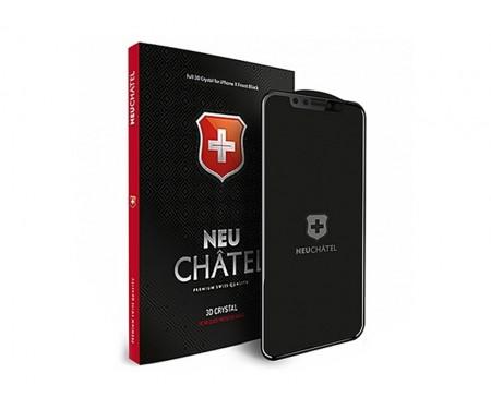 Защитное стекло для iPhone XR Black Neu Chatel