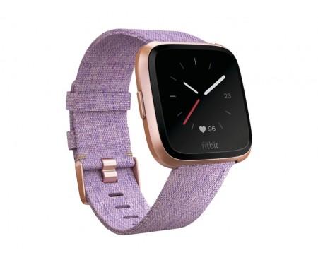 Fitbit Versa Special Edition, Lavender Woven (FB505RGLV)