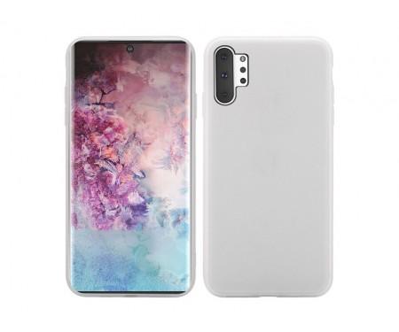 Чехол для Samsung Note 10 Plus Lavender Gray Silicone case