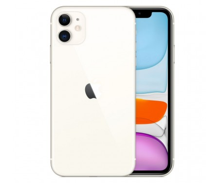 Смартфон Apple iPhone 11 64GB Dual Sim White (MWN12) 1