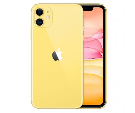 Смартфон Apple iPhone 11 128GB Dual Sim Yellow (MWNC2) 1