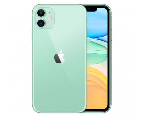 Смартфон Apple iPhone 11 256GB Dual Sim Green (MWNL2) 1