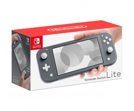 Портативная игровая приставка Nintendo Switch Lite Grey