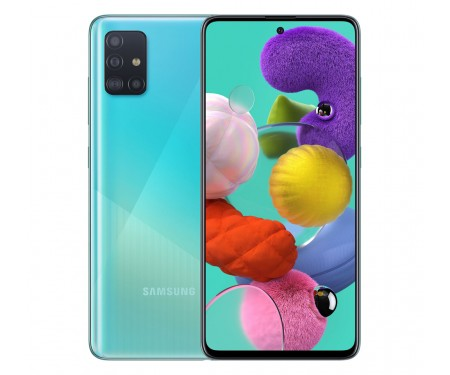 Смартфон Samsung Galaxy A51 4/64GB Blue (SM-A515FZBU)