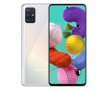 Смартфон Samsung Galaxy A51 6/64GB White