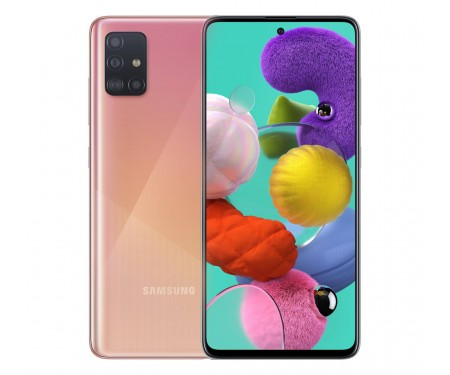Смартфон Samsung Galaxy A51 6/64GB Pink