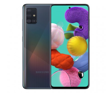 Смартфон Samsung Galaxy A51 8/128GB Black