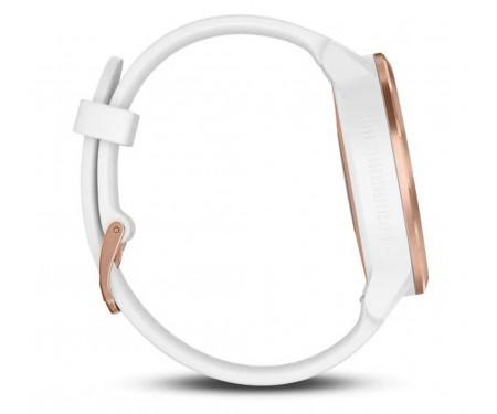 Смарт-часы Garmin Vivoactive 3 White with Rose Gold Hardware White (010-01769-07)