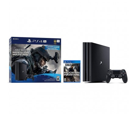 Sony Playstation 4 Pro 1TB+Call of Duty: Modern Warfare