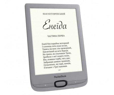 Электронная книга с подсветкой Pocketbook 616 Basic Lux 2 Matte Silver PB616-S-CIS
