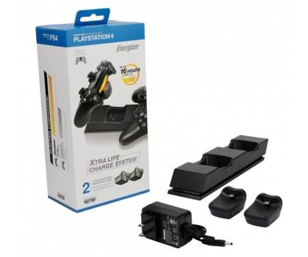 Зарядная станция для PS4 PDP Energizer+дополнительные аккумуляторы