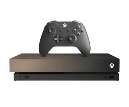 Игровая приставка Microsoft Xbox One X 1TB Gold Rush Special Edition