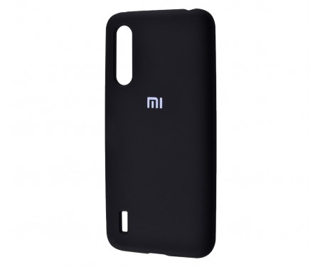 Чехол для Xiaomi Mi A3 Silicone Cover Black