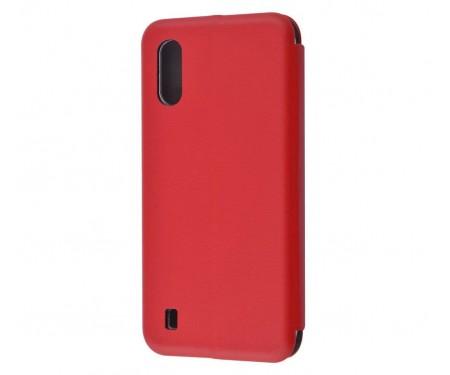 Чехол-книжка для Samsung Galaxy A01 Flip Magnetic Red