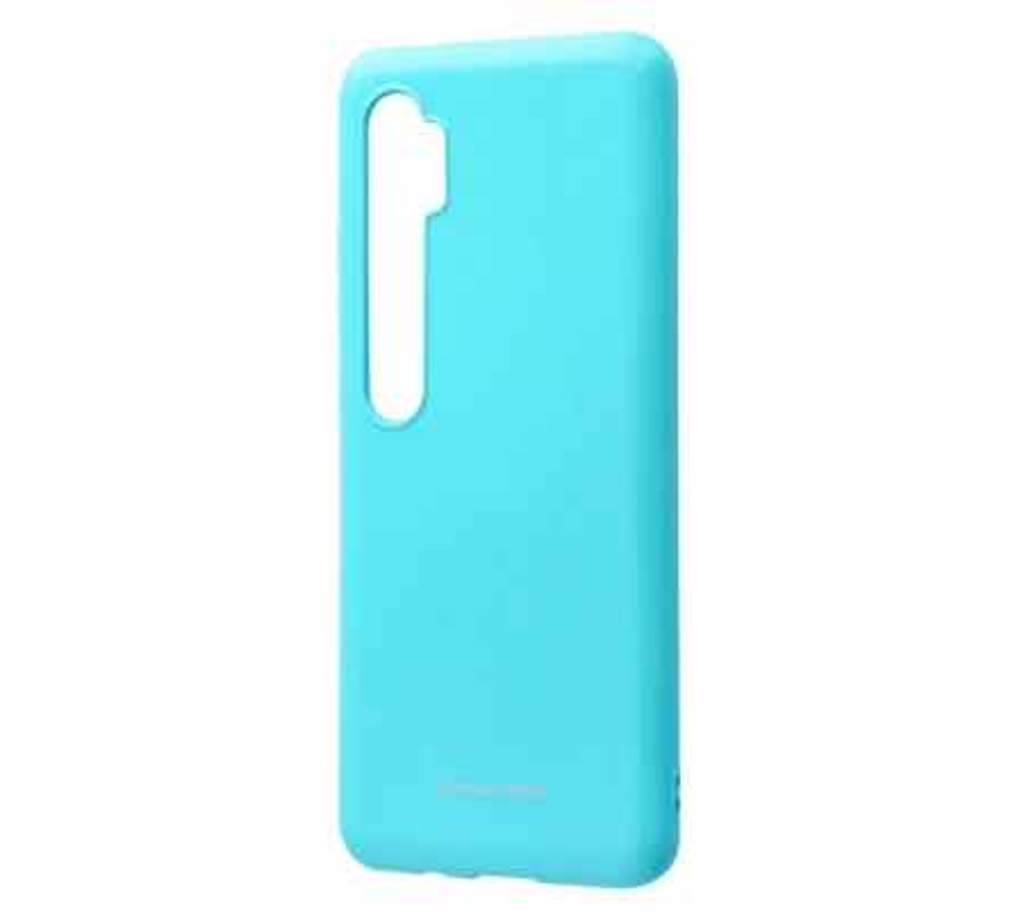 Чехол для Xiaomi MI Note 10 Molan Cano Glossy Jelly Case Mint