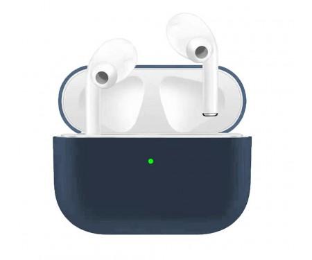 Чехол для Airpods Pro Ultrathin Silicon case Dark Blue
